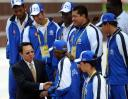 Handshaking at Olympics